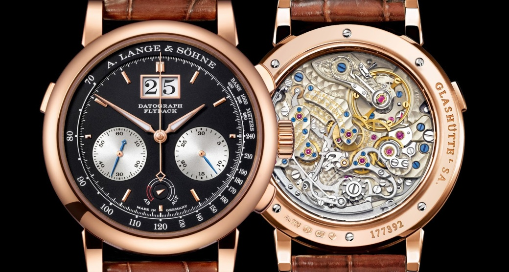 A. Lange & Söhne - Datograph Up-Down combined 2 pink gold